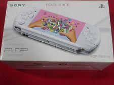CONSOLE PSP SLIM & LITE PEARL WHITE 3004 FINAL FANTASY VII RARE