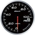 DEFI LINK METER ADVANCE BF OIL PRESSURE GAUGE 60MM DF10201 WHITE