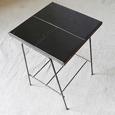 table basse céramique vintage années 50 design 1950 métal carreau era guariche