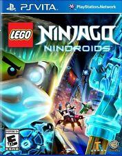 LEGO NINJAGO NINDROIDS VITA ACTION NEW VIDEO GAME
