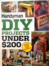 The Family Handyman DIY Projects Under $200 New Hardcover Save Time and Money!
