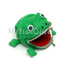 Durable Novelty Cartoon Naruto Frog Coin Bag Cute Purse Cosplay Wallet Plush