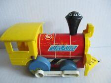 Fisher-Price Toy Eisenbahn Lok Toot-Toot 15 cm ca. 60er 70er Jahre