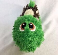 """Stuffies Shuffles Turtle Green Brown  Secret Pouch Magnets Plush Toy Animal 9"""""""