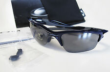 New OAKLEY Half Jacket 2.0 XL Polished Navy / Black Iridium Sunglasses OO9154-24