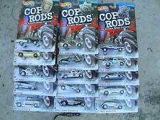 HOT WHEELS LOT OF 15 POLICE PATROL COP RODS SERIES # 2