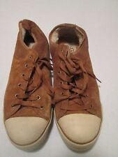 UGG Australia Womens Brown Suede Evera Fashion Oxford Sneakers Shoes Size 10