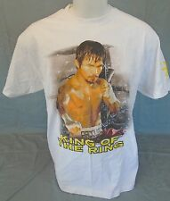 Manny Pacquiáo King of The Ring Boxing Championship Men's T-Shirt Size Large