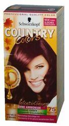 Country colors kakao dunkelgoldbraun