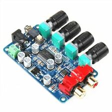 Amplifier Board Lm1036&Ne5532 Stereo Preamp Preamplifier Tone Board Ic New H
