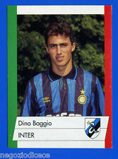 CALCIO FLASH '92 Lampo - Figurina-Sticker n. 111 - D.BAGGIO - INTER -New