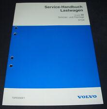 Werkstatthandbuch Volvo LKW Lastwagen Schmieranlage / Ölanlage D16A Stand 1993!