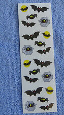 Mrs Grossman BATS & SPIDERS Halloween Stickers