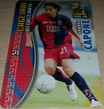 CARD CALCIATORI PANINI 2005-06 CAGLIARI CAPONE CALCIO FOOTBALL SOCCER ALBUM