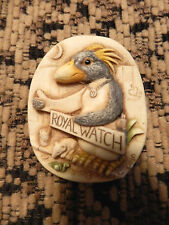 HARMONY KINGDOM 'MURPHY' PENGUIN PIN ROYAL WATCH COLLECTOR'S CLUB 1999 EXCLUVISE