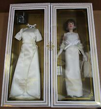 Franklin Mint Jacqueline Kennedy Inaugural Vinyl Barbie Doll Ball Gala Gown NEW