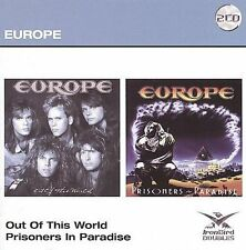 Out of This World/Prisoners in Paradise by Europe (CD, Nov-2009, 2 Discs,...