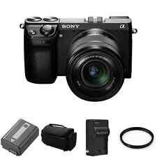 Sony Alpha NEX-7 Digital Camera w/ 18-55mm Lens Black 2 Batteries, UV Filter +