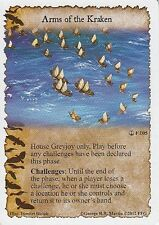 3 x Arms of the Kraken AGoT LCG 1.0 Game of Thrones A Journey's End 105