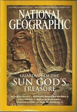 National Geographic November 2003 Sun God's Treasure/You're Being Watched