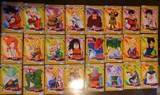 DRAGON BALL Z GOLD 24  COLLECTIBLE TRADING CARDS SERIE GOLD 2 BY TOPPS