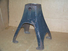 Antique Cast Iron Cream Separator Base Stand Steampunk Industrial Table Pedestal