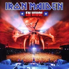 "IRON MAIDEN ""EN VIVO! LIVE IN SANTIAGO DE CHILE"" 2 CD NEU"