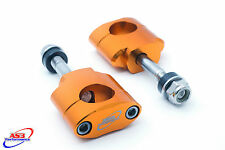 SUZUKI RM RMZ 125 250 450 28.6MM OVERSIZE FAT BAR HANDLEBAR MOUNTS CLAMPS 12MM