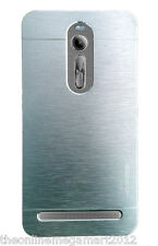 Imported Silver Brush Metallic Hard Back Case,Cover,For Asus Zenfone 2 ZE551ML