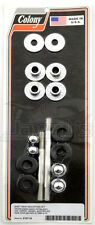 Gas Tank Mounting Hardware Kit Acorn Nut-Style with Stud   Colony 2107-16
