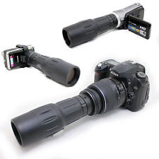 10x 42 1000mm Digiscoping Telescope for Nikon Digital D3000 AF-s DX 18-55mm Lens