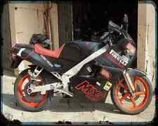 Gilera Mx 1 Record 1 A4 Photo Print Motorbike Vintage Aged