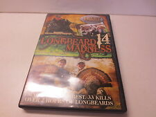 Turkey Hunting DVD Drury Outdoors Tim Sylvia Longbeard Madness 14 over 2 hours