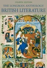 The Longman Anthology of British Literature, Volume 1A: The Middle Ages (4th Edi