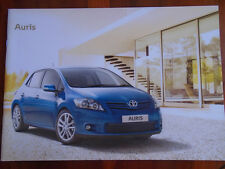 Toyota Auris range brochure Feb 2011 Irish market