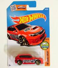 Hotwheels SUBARU WRX STI ( RED ) - Hot Pick