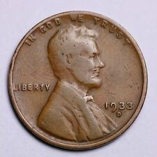 1933-D Lincoln Wheat Cent Penny LOWEST PRICES ON THE BAY!  FREE SHIPPING!