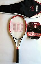 Wilson Tennis Racquet K Factor - KBold 4 3/8 - Never Used- Includes Bag