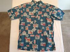 Vtg REYN SPOONER Hawaiin Style Pullover Shirt Mens Size M NWOT condition!!
