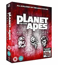 PLANET OF THE APES Primal Collection 1-8 [Blu-ray Box Set] All 8 Films Complete