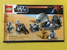 New Lego Instruction Manual ONLY Star Wars Droid Escape 9490