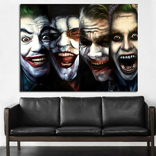 Poster Wall Mural Joker Batman Dark Knight Pop Art 35x47 inch (90x120 cm) Canvas