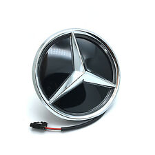 Illuminated LED Light Front Grille Grill Mirror Star Emblem for Mercedes Benz