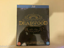Deadwood THE ULTIMATE COLLECTION BLU RAY tutte le 3 stagioni * NUOVO SIGILLATO *