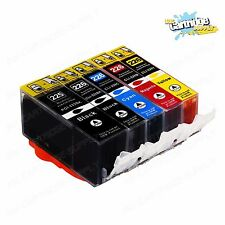 5PK NEW Ink Cartridges chip installed for pgi-225 cli-226 Canon MG5220 MG5320