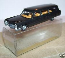 MICRO PRALINE HO 1/87 CADILLAC 70 LIMOUSINE de LUXE NOIRE STATION WAGON IN BOX