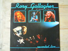 Rory Gallagher - STAGE STRUCK (Lp) Press ITALY + Sleeve Photo