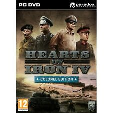 Hearts Of Iron IV Colonel Edition PC Game Brand New