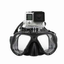 Dive Fish Eyes Scuba Diving Mask Spearfishing Freediving Snorkeling For Gopro