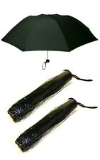 2 PCS FOLDING UMBRELLA MINI SIZE IDEAL FOR HANDBAG, BRIEFCASE OR COAT POCKET